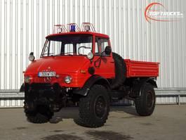platform truck Unimog Mercedes-Benz Unimog 416 BE 4x4 - 6 Cilinder - 1981