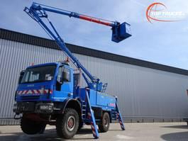 mounted boom lift truck Iveco Eurocargo 140E24 4x4 -17 mtr. Hoogwerker, Platform, Arbeitsbuhne 2006