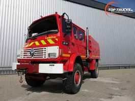 Engine truck part Renault M180 Midliner 4x4  fire brigade - brandweer - watertank 2500 - Ongeval, ... 1997