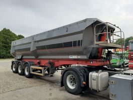 tipper semi trailer Mol Kipper 3 assen 27m3 1999