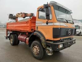 other trucks Mercedes-Benz 2024/1824 Meiller tipper+crane 4x4 Manual.big ax