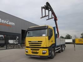crane truck Iveco AS320S50X/PS PALFINGER PK16001L, KLIMA 2009