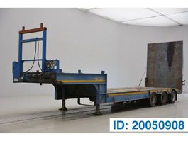 Tieflader Auflieger Gheysen en Verpoort Low bed trailer 2001
