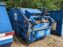 press container 8m3 met kantelaar 1999
