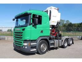 other-tractorheads Scania G 410 LL - 6x2/4 - 94.113 Km - EURO 6 + EPSILON Z 130 QD KRAAN - TOP TOE... 2016