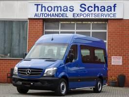 minivan - passenger coach car Mercedes Benz Sprinter 213 Cdi 9 Sitze Schiebetür Klima Euro 6 2014