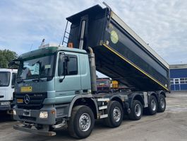 tipper truck > 7.5 t Mercedes Benz ACTROS 5044 K Kipper 10X4 Full Steel Eps Good Condition 3 units 2009