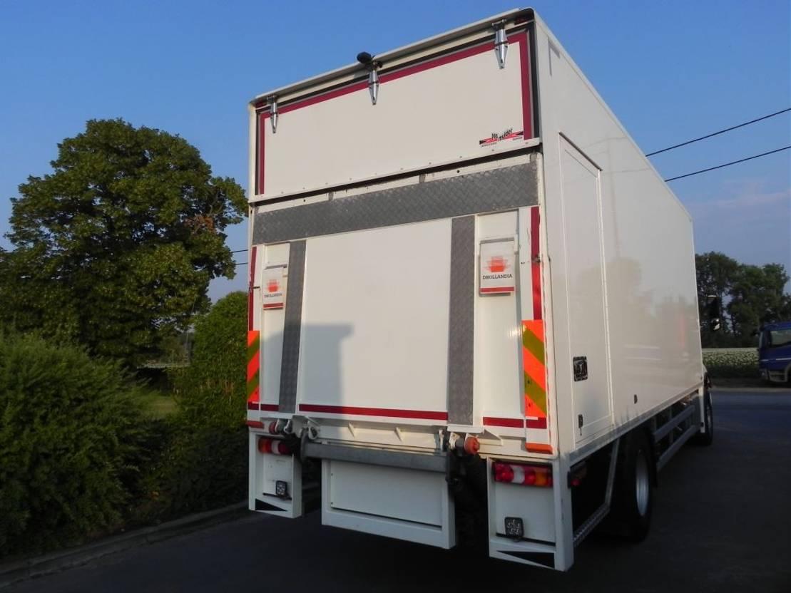 closed box truck > 7.5 t Mercedes Benz Antos 1927L Euro 6 gesloten kast met laadklep 2019