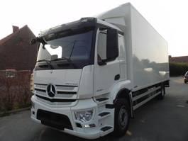 closed box truck > 7.5 t Mercedes-Benz Antos 1927L Euro 6 gesloten kast met laadklep 2019