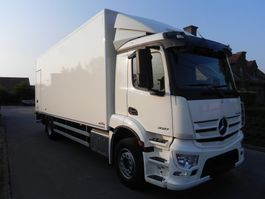 closed box truck Mercedes-Benz Antos 1927L Euro 6 gesloten kast met laadklep 2019