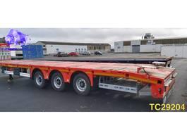 flatbed semi trailer Kaessbohrer SPAM Flatbed 2020
