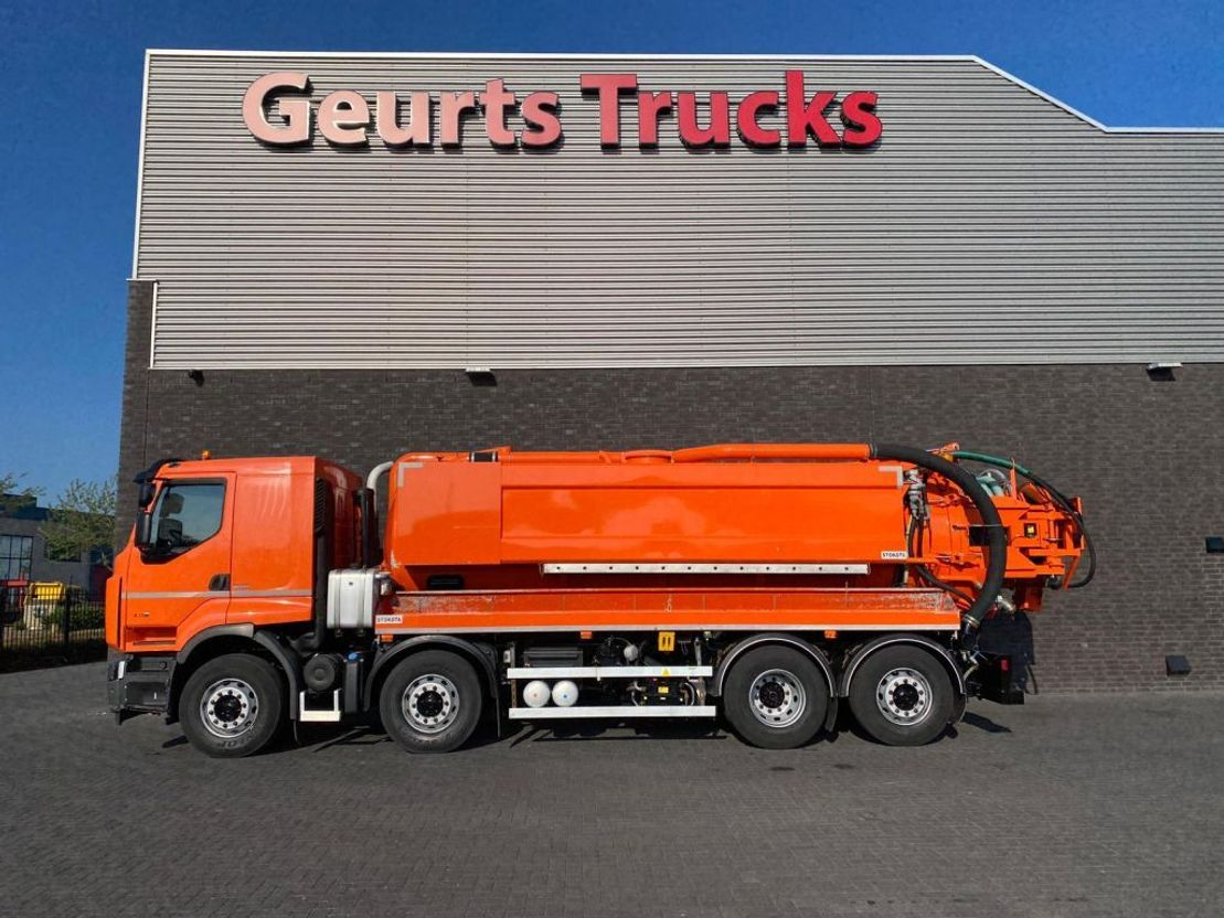 Saugwagen Renault Lander 430 8X2 STOKOTA VACUUM/HOGEDRUK /COMBI/KOLKENZUIGER 2011