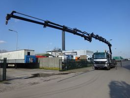 crane truck Mercedes Benz ACTROS 2636 6 X 4 + HIAB 288 E-6 HIPRO + JIB 2005