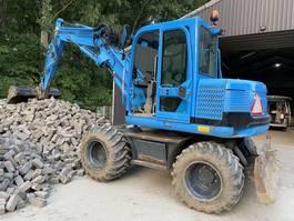 wheeled excavator Takeuchi Tb175w 2009