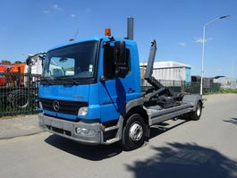 container truck Mercedes Benz ATEGO 1218 !! HAAKSYSTEEM !! KEURING !! TUV !! 2007