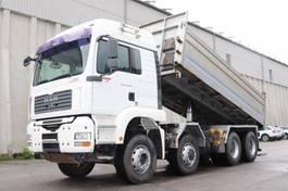tipper truck > 7.5 t MAN TGA35.480  8x6 Euro4 Retarder Leasing 2007
