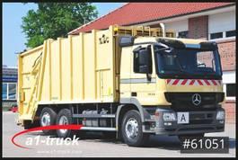 garbage truck Mercedes-Benz Actros 2632 L,  Haller X2C + Zoeller  Delta 2301, TÜV NEU 2012