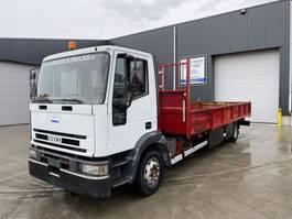 platform truck Iveco EUROCARGO 12E18 2002