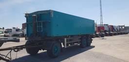 tipper trailer 31 m3 kipper aluminium / BPW / 3 asser 1995