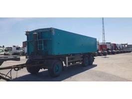 tipper trailer MKV 31 m3 kipper aluminium / BPW / 3 asser 1995