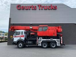crane truck Mercedes-Benz 2631 6x4 + LIEBHERR LTF 1030 + JIB KRAAN/KRAN/CRANE/GRUA 1993