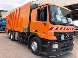 garbage truck Mercedes-Benz 2536 Actros 6x2 Faun Wash System 2004