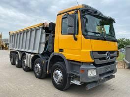 tipper truck > 7.5 t Mercedes-Benz Actros 4448 ejector dumper Abschiebermulde Fliegl 2012