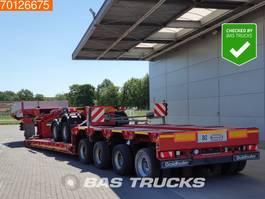 lowloader semi trailer Goldhofer STZ-VL4-52/80A 2+4 Detachable Neck Bed Extendable til: 12,40m 4-Lenkachse 2014