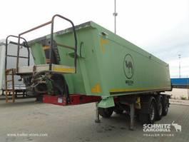 tipper semi trailer Wielton Tipper Alu-square sided body 24m³ 2012