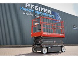 scissor lift wheeld Skyjack SJ4626 Electric, 9.75m Working Height, Non Marking 2013