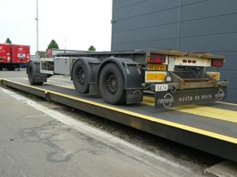container chassis trailer GS Meppel AIC-2700 N 2005