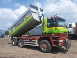tipper truck > 7.5 t Ginaf X 3335 S 6x6 kipper geisoleerde stalen bak 2006