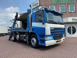 container truck DAF CF75-250 6X2 PORTAALWAGEN HANDGESCHAKELD EURO3 2002