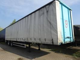 sliding curtain semi trailer Van Hool 2 ASSIGE SCHUIFZEILEN + LAADKLEP 1992
