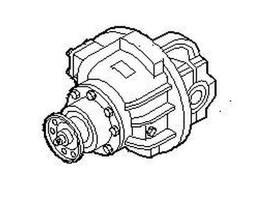 Diferencial pieza de camión Iveco Differential, Drive Axle