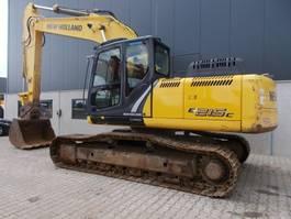 crawler excavator New Holland E215C LC 2014