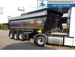 tipper semi trailer Meiller MHPS 44/4 Geïsoleerde asfaltkipper Geïsoleerde asfaltkipper met kleppen 2020