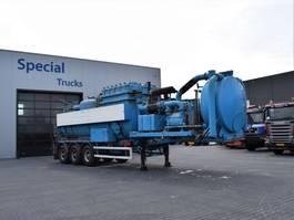 Tankauflieger Auflieger Royen Ipsam Drogestoffenzuiger / dry solids suction unit 2002