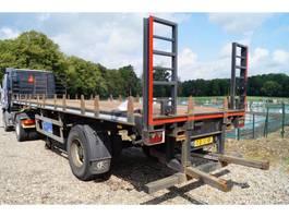 flatbed semi trailer Tracon 1-assige oplegger 2001