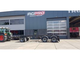 container chassis trailer GS Meppel AC 2800 N 1995