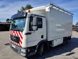 closed box truck MAN 7-150 TGL Workshop/Werkstatt Truck - Camion Atelier 2011
