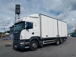 closed box truck > 7.5 t Scania R500 6X2 2007