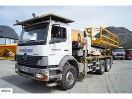 other construction machine Mercedes Benz Atego 2628K 6x4 with good tires. 2004