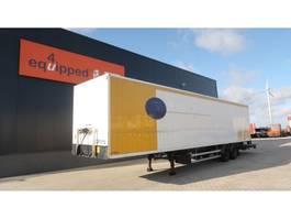 closed box semi trailer Lag voller Rahmen, Hartholzboden, Scheibebremsen, NL-Auflieger 2007