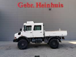 platform truck Unimog 437/25 U3000 4x4 DOKA 2007