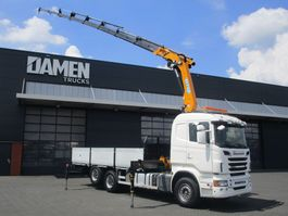 crane truck Scania R500 CB 6x2 V8 Euro 5 2013