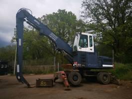 wheeled excavator Liebherr A 922 Litronic Umschlagbagger +Magnetanlage 1996
