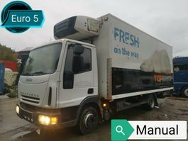 refrigerated closed box lcv Iveco EUROCARGO 75E18*EURO´5* Kühlkoffer*CARRIER*LBW** 2008