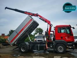tipper truck > 7.5 t MAN TGS 18.400*EURO 5 EEV KEMPF ALU KIPPER+KRAN+TÜV* 2012
