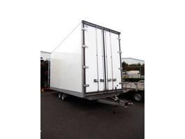 closed box car trailer VEZEKO TZZ538 2 As Wipkar Gesloten - Doorlader - Tandemas Aanhangwagen G... 2013